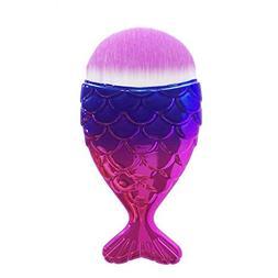 1 pcs mermaid fish makeup brushes set
