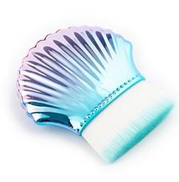 1 Piece Mermaid Fishtail Makeup Brushes Set Contour Cosmetic
