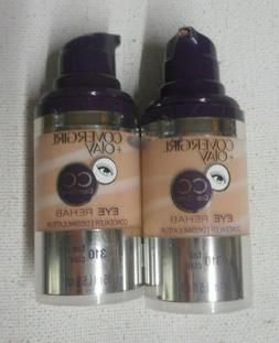 2 bottle lot COVERGIRL & OLAY EYE REHAB CC CONCEALER + SERUM
