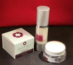 2 SAVION Eye Cream & Levira Vit C Facial Serum Anti-Aging Sp