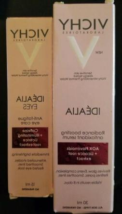 Vichy Idealia Antioxidant Serum & Eye Care Combo, EXP 12/20