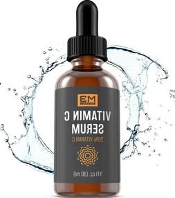 $22 M3 Naturals Vitamin C Serum Hyaluronic Acid Face Eyes To