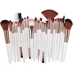 25 pcs makeup brush set power eye
