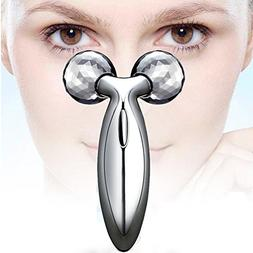 DANGSHAN 3D Roller Beauty Bar Facial Massager, Face Lift Too