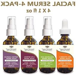 4 Bottle Serum Set – Natural Logix Anti-Aging Facial Serum