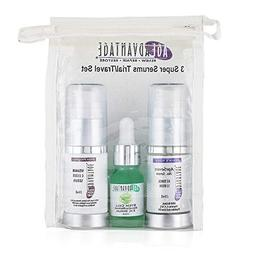 Age Advantage Skincare Serum Trial Travel Set Vitamin C Este