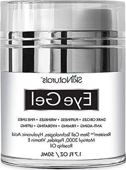 Eye Gel for Dark Circles, Puffiness, Wrinkles, Fine Lines an