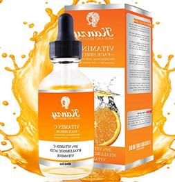 KANZY Vitamin C Serum for face with 20% Hyaluronic Acid and