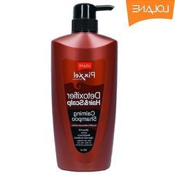 Lolane Pixxel Detoxifier Hair&scalp Calming Shampoo 500 G.