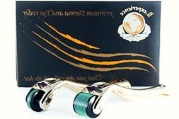 Micro Derma Roller Kit-540 Titanium MicroNeedles at 0.25mm L
