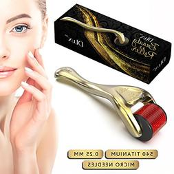 Microneedle Derma Roller with Protective Kit :: New 2018 Mod