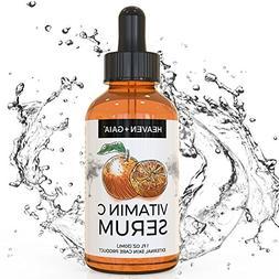 NEW Heaven+Gaia Vitamin C Facial Serum to Promote Healthy Sk