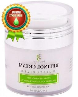 Retinol Moisturizer Anti Aging Cream for Face and Eye Area -