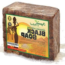 Organic African Black Soap - Natural Face & Body Wash For Al