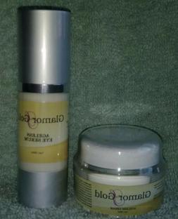 GLAMOR GOLD AGELESS Face Cream . & GLAMOR GOLD AGELESS Eye S