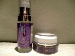 SKINnu Anti Wrinkle Serum & EYEnu Under Eye Treatment Cream