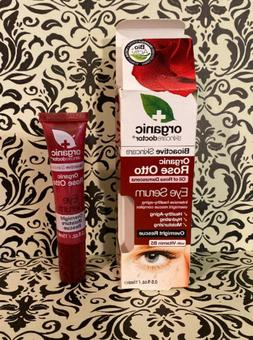 bioactive skincare organic rose otto eye serum
