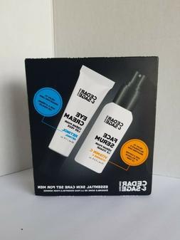 Cedar & Sage For Men Anti Aging Face Serum & Eye Cream Skin