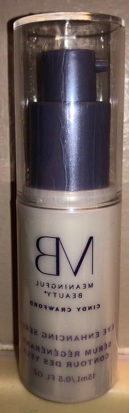 Meaningful Beauty Cindy Crawford Eye Enhancing Serum .5 fl o