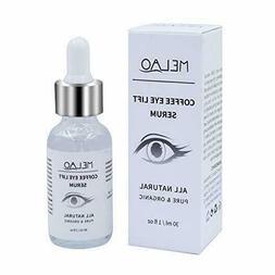 Coffee Eye Lift Serum, Organic, Anti Aging, Natural Coffee S