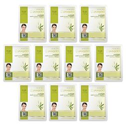 DERMAL Bamboo Collagen Essence Facial Mask Sheet 23g Pack of