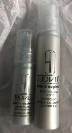 Clinique Custom-Repair Serum .34 oz. & Custom-Repair Eye Tre