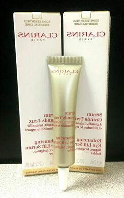 Clarins Enhancing Eye Lift Serum .2 OZ Trial Size - NIB LOT
