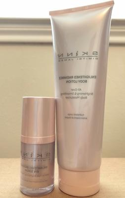 Skinn Enlightened Radiance Eye Serum & Body Lotion Duo - New