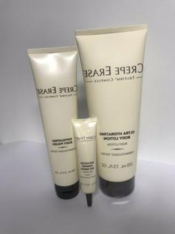 Crepe Erase Coplex Body Lation 7.5oz+ Body Polish 3.5oz +Fir