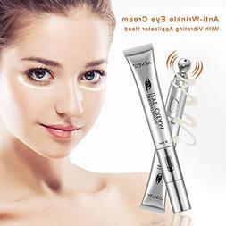 Eye Cream Massager, Natural Organic Anti Aging Eye Serum Gel