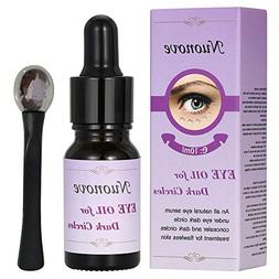 Eye Oil For Dark Circles, Eye Serum for Dark Circles and Puf