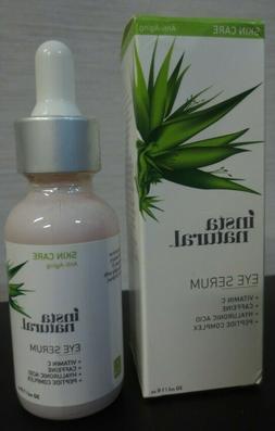 InstaNatural, Eye Serum, Anti-Aging, 1 fl oz