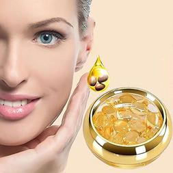 Eye Serum Capsules with Hyaluronic Acid Squalane Collagen, P