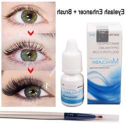 Eyelash Growth Enhancer Natural Eyelashes Longer Fuller Thic