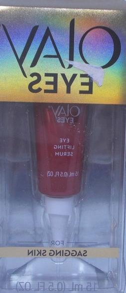 Olay eyes eye lifting serum for sagging skin 0.5 fl oz feels