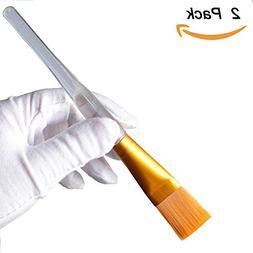 Facial Mask Brush, EVERMARKET Premium Gold Soft Face Brushes