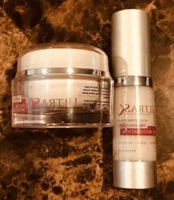 ULTRA SK Facial Moisturizer 1 oz & UltraSK Eye Restoration S