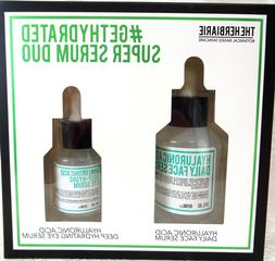 Hyaluronic Acid Daily FACIAL Serum  & Deep Hydrating EYE Ser