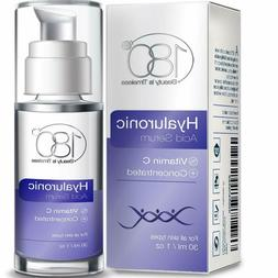 180 Cosmetics Hyaluronic Acid Serum + Vitamin C, Face Lift S