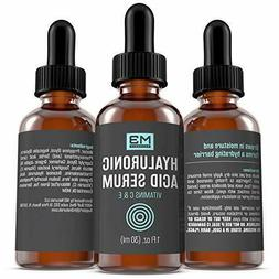M3 Naturals Hyaluronic Acid Serum with Vitamin C for Face &