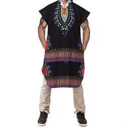 kaifongfu African Wind Hoodie Hipster Hip Hop Dashiki Pollov