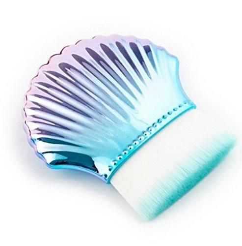 1 piece mermaid fishtail makeup brushes set