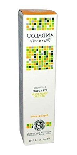 - Andalou Luminous Eye Serum | 18ml | 10 PACK - SUPER SAVER