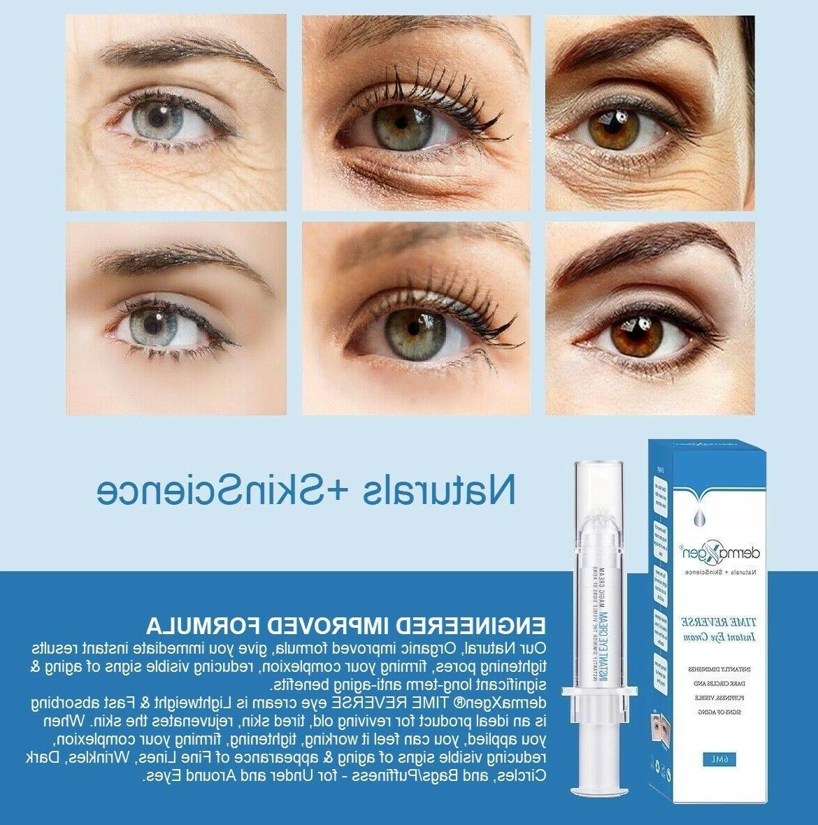 dermaXgen® 60 SECOND INSTANT TIME REVERSE  Eye Cream Dark C