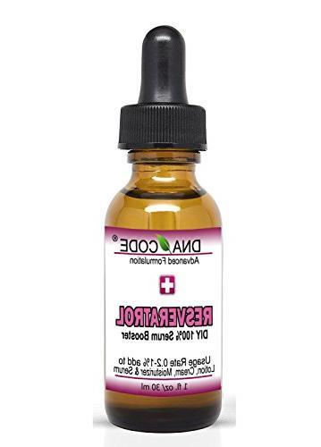DIY 100% Resveratrol Solution, Collagen Renew, Reduce Eye ba