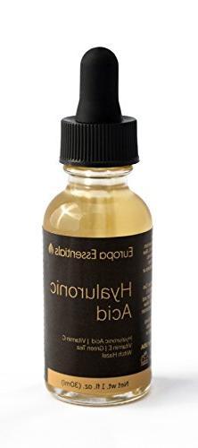 Europa Essentials Botanical Hyaluronic Acid Anti-Aging Serum
