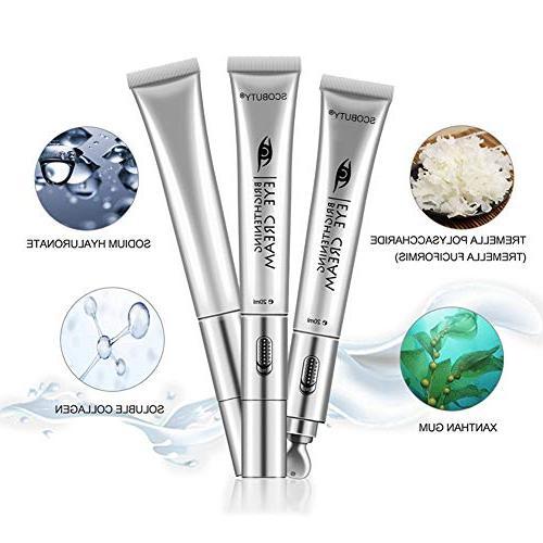 Eye Under Massager Cream, Electric Facial Moisturizing Firming Eye Skin Removal