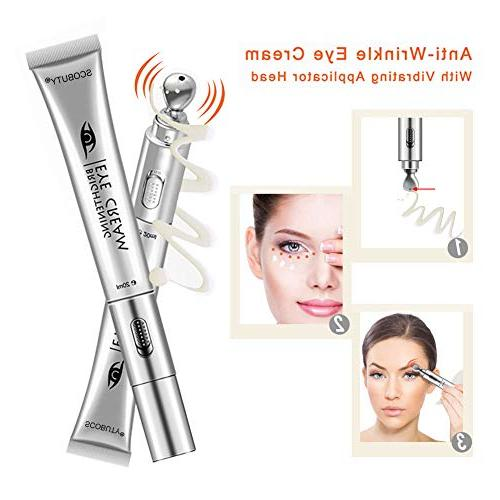 Eye Cream, Massager, Under Eye Cream, Massager Eye Electric Facial Massage Cream Moisturizing Firming Wrinkle