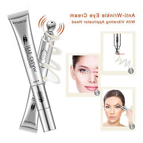 Eye Cream, Massager, Under Eye Cream, Massager Eye Electric Facial Massage Cream Moisturizing Firming Wrinkle