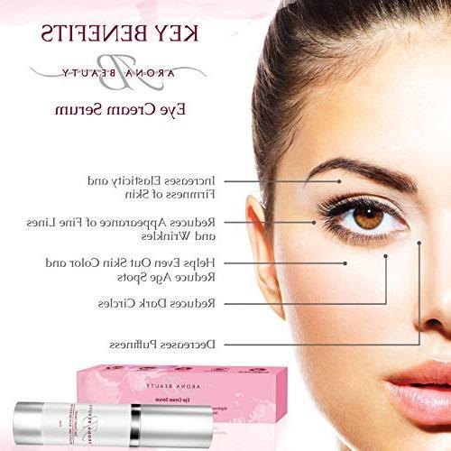 Eye Anti Cream, Anti Wrinkle - Serum Eye Cruelty Free, Sunflower Free,